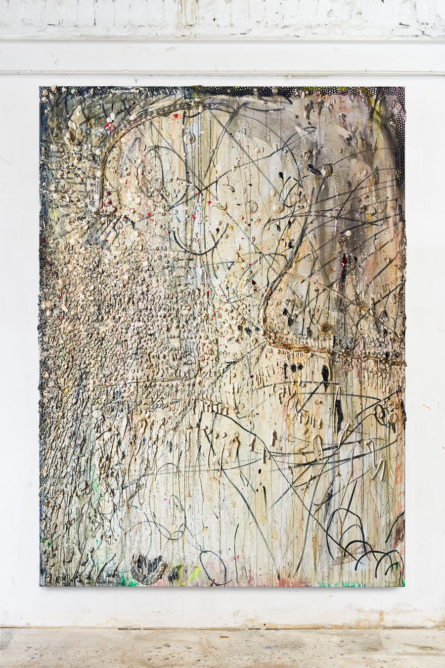 Acrylic on canvas 260x190cm