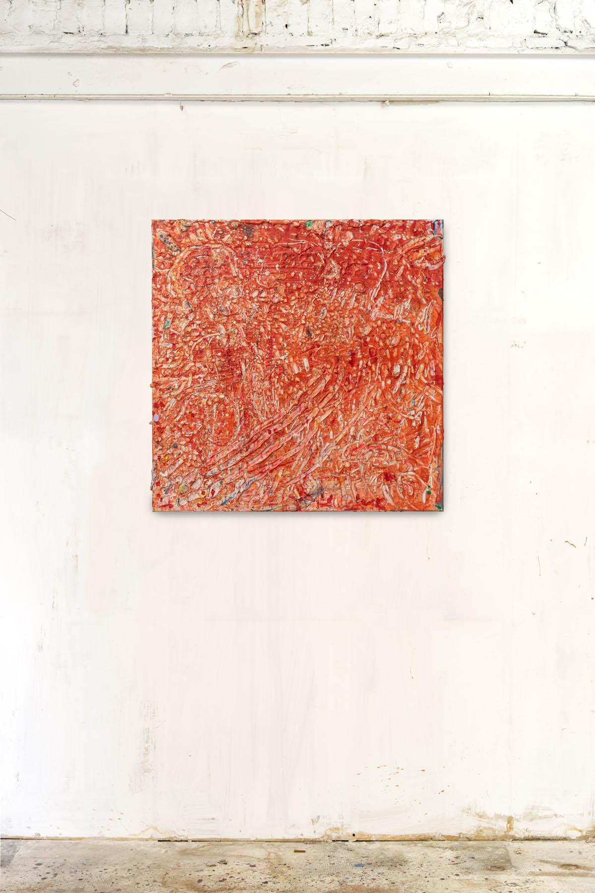 Acryl and spraypaint on canvas 100x100cm