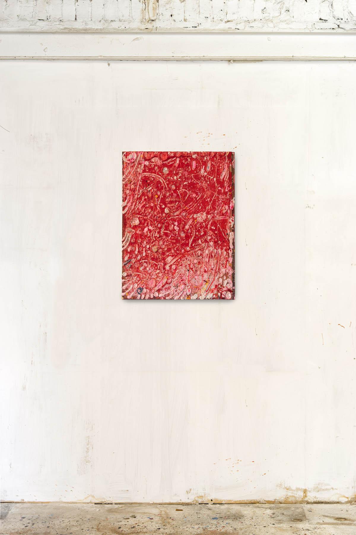 Acryl and spraypaint on canvas 85x65cm