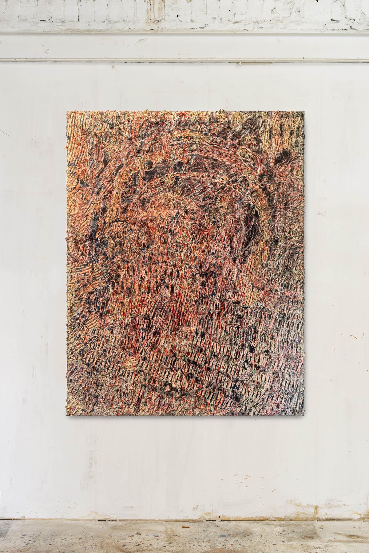 Acryl and spraypaint on canvas 180x150cm