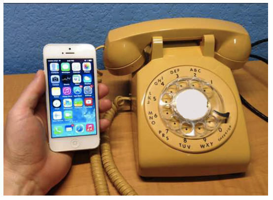 Old analog phone - systems are being replaced with Digital IP based communication systems
