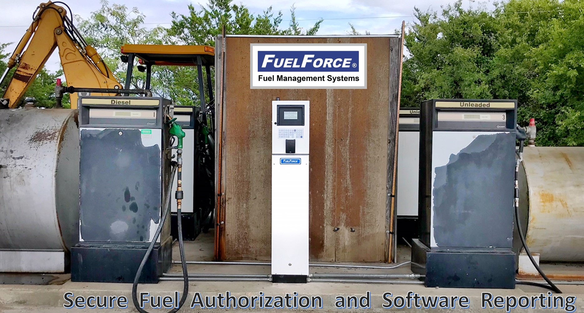 FuelForce 814K HID Proximity Key and Badge Reader Wireless Fuel Management System.jpg