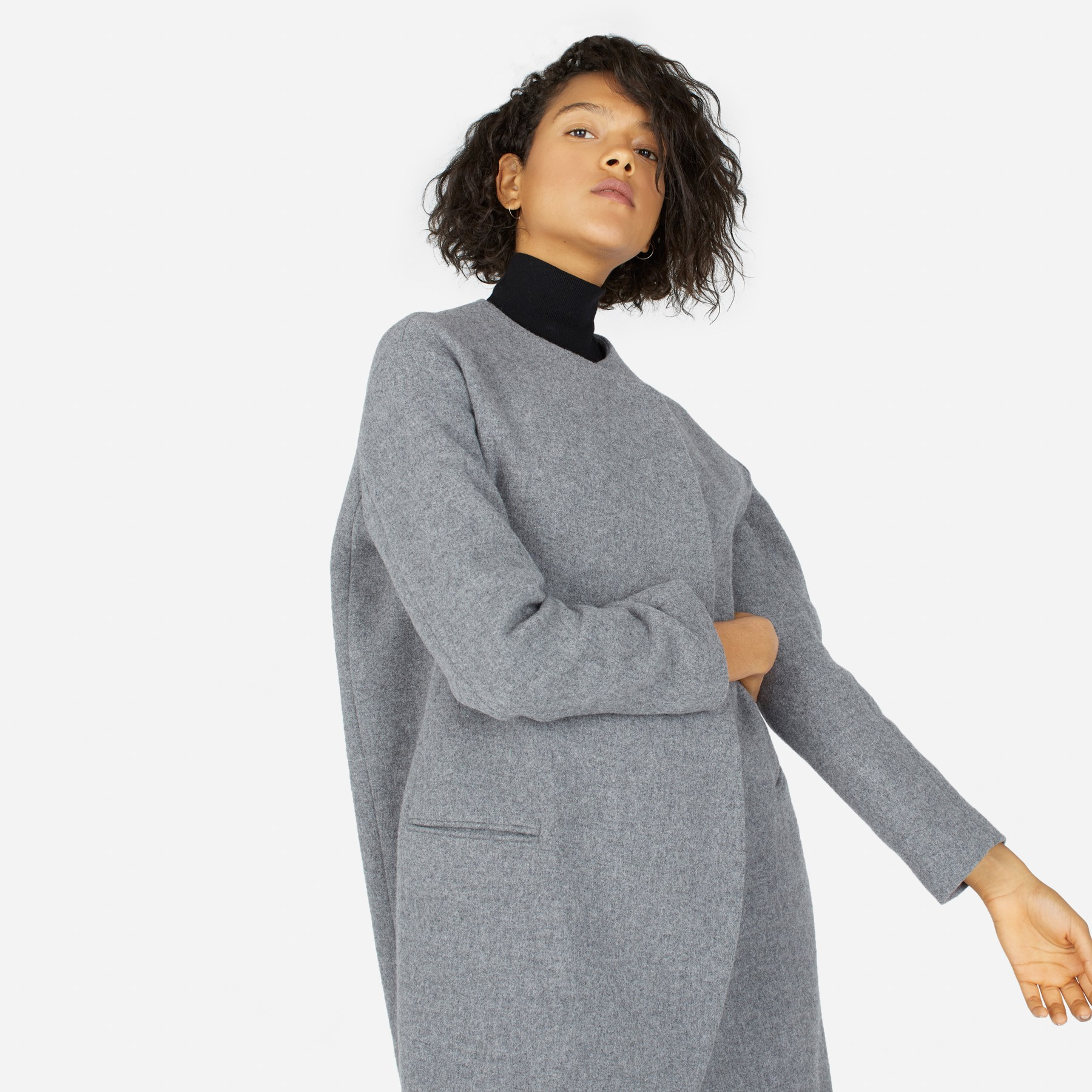 Everlane    $-$$  This is perfect destination for buying knitwear essentials. If you are looking for a simple and elegant camel pullover to wear with your favourite jeans, you can find it here, I promise.