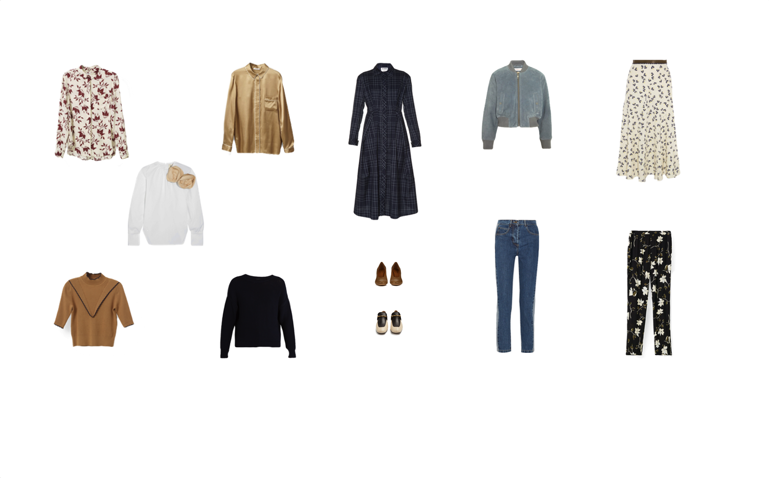 Capsule Wardrobe for the Pear Body shape