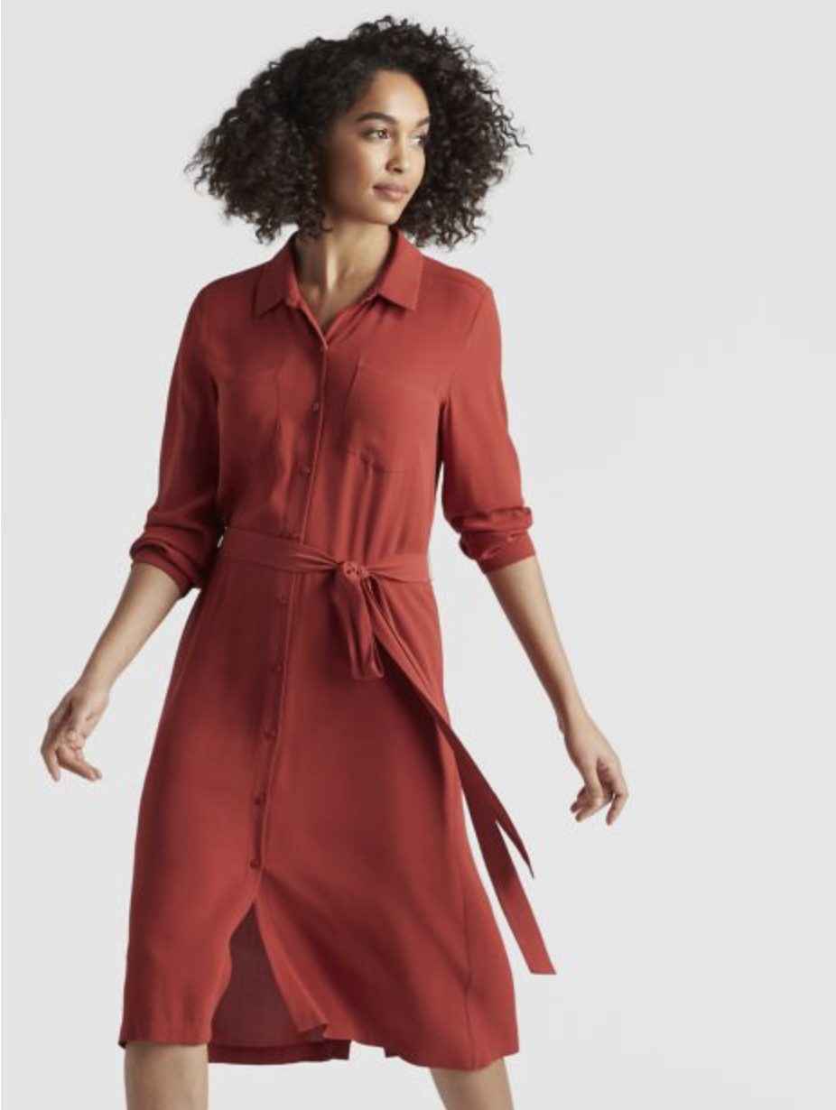 Eileen Fisher - $$-$$$, US, eco-friendly, worldwide delivery.