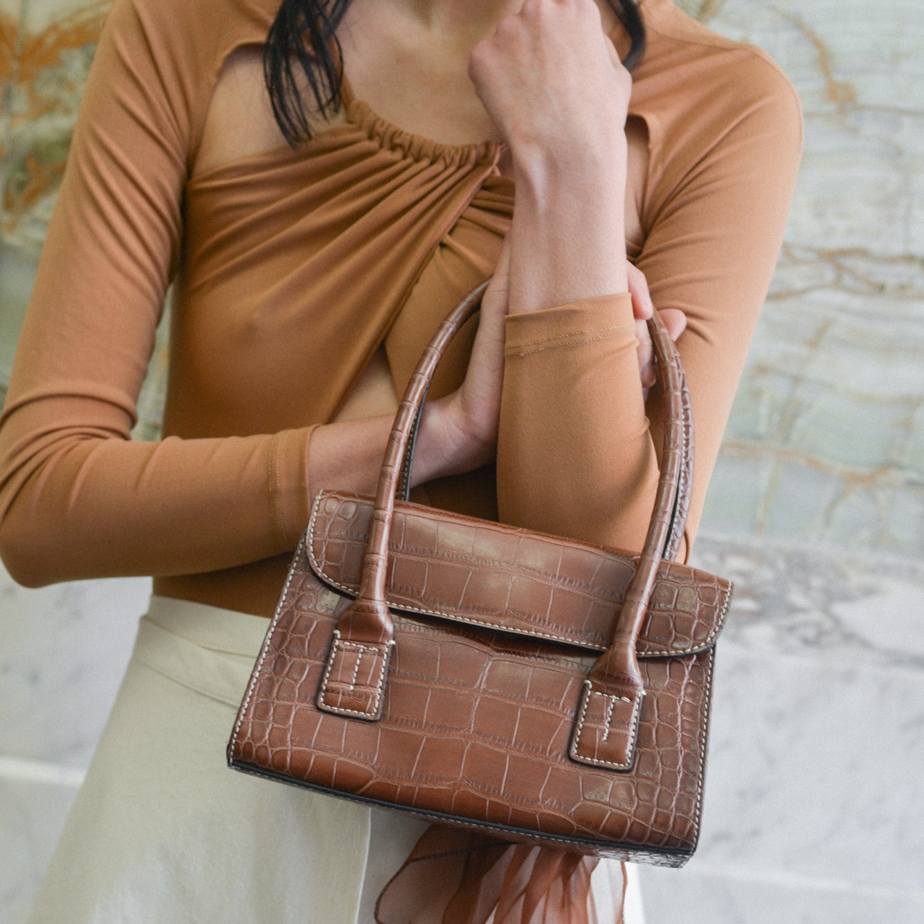 Vintage bag by  Either and