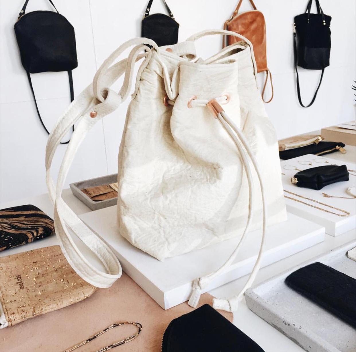 Pinatex bag by  Eve and Adis
