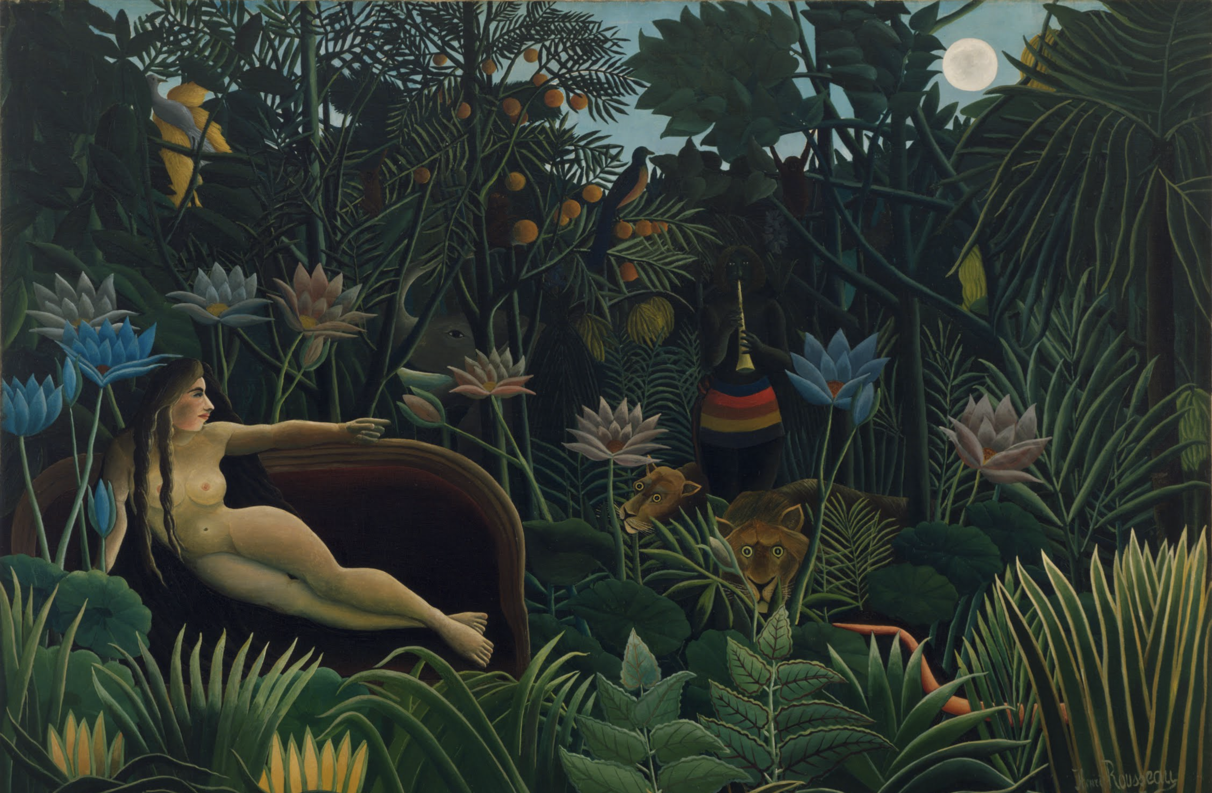 "Henri Rousseau ""The Dream"", 1910"