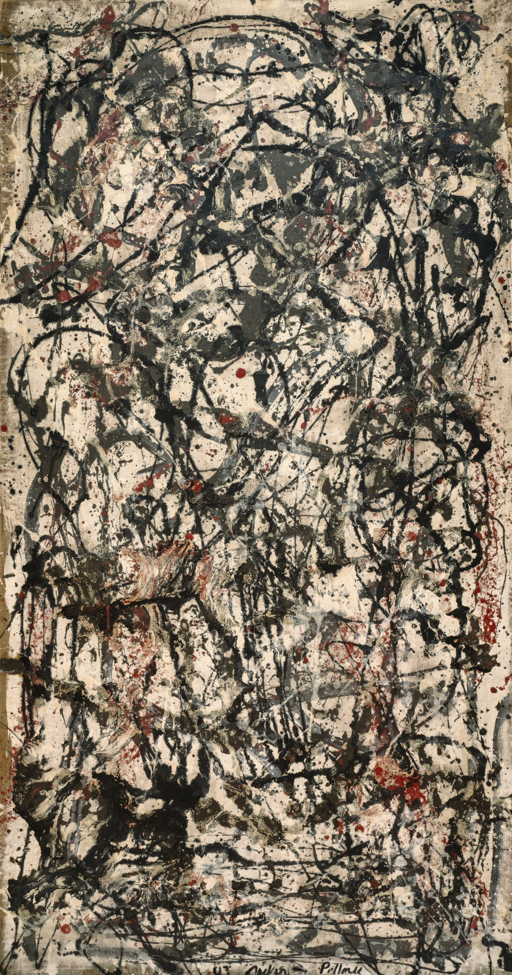 J.Pollock, Enchanted Forest 1947