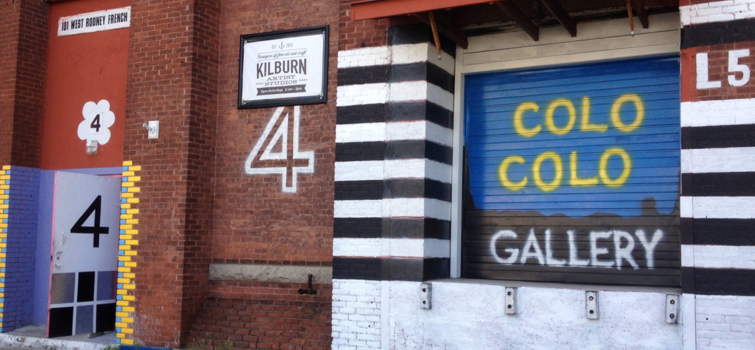 Colo Colo Gallery from Rodney French Boulevard in New Bedford, MA.
