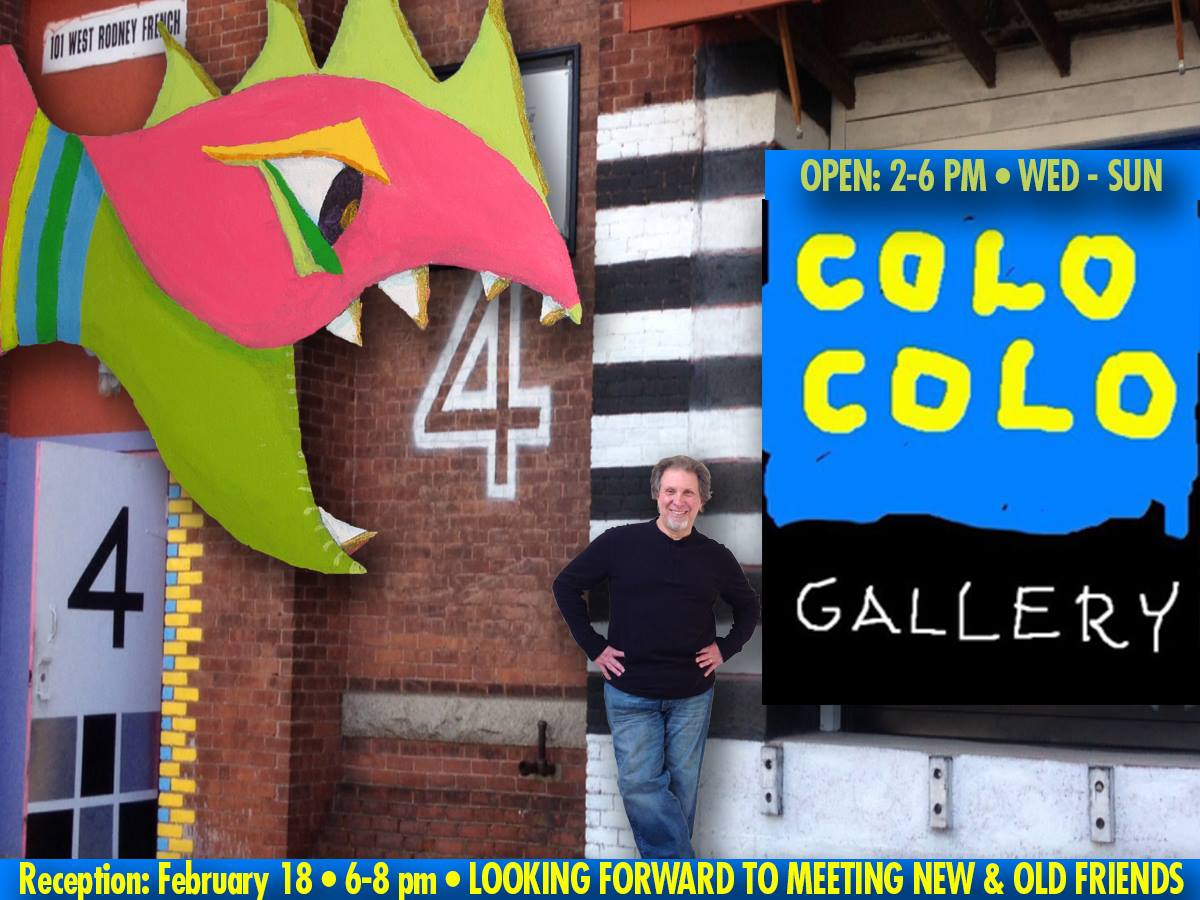 Colo Colo Gallery , New Bedford, MA. Cool isn't it. A bit of Photoshop can do wonders.