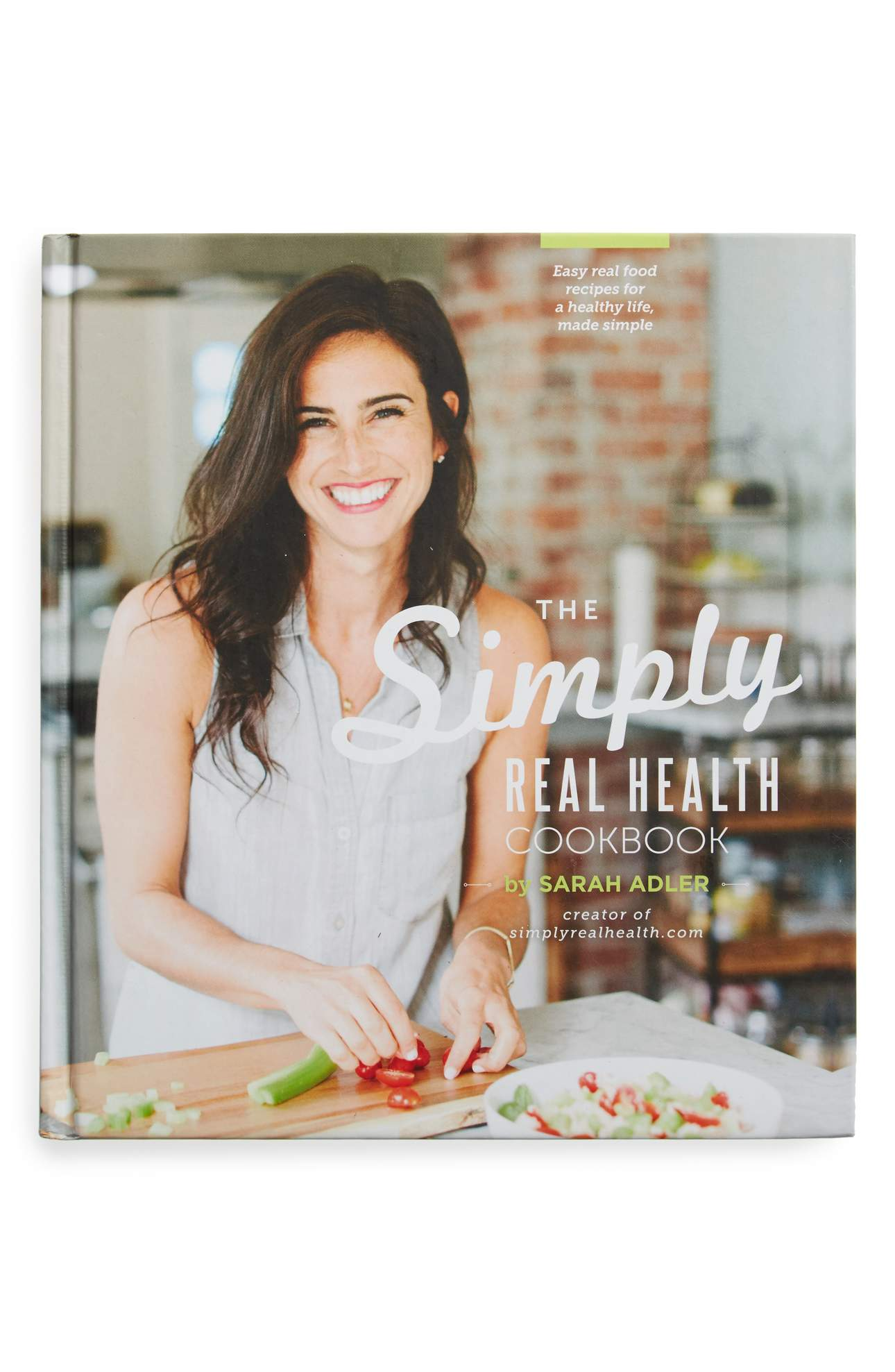 The Simply Real Health Cookbook - The first hardcover cookbook by Sarah Adler, the creator of simplyrealhealth.com contains 150 easy, real-food and 100% naturally gluten-free recipes. This book is complete with stunning photography, easier ways to eat more vegetables, and creative tips for any level of home-cook looking to eat a healthier lifestyle. Price: $38