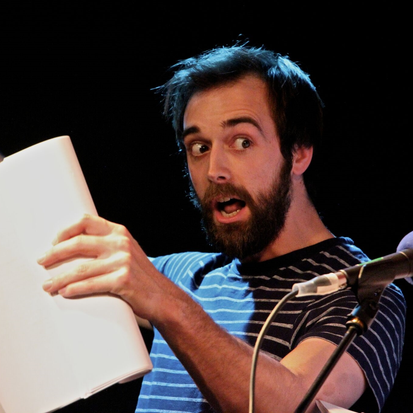 Richard Soames - George     Richard Soames  is an actor, writer, comedian and improviser. He is one quarter of Chortle-Award nominated sketch group  The Beta Males  and in 2015 took his debut solo show to The Edinburgh Festival, where  he also co-wrote and performed in The Foster's Best Newcomer Award Nominated show The Story Beast. Richard improvises regularly with Monkey Toast UK and has guested with Grand Theft Impro and Austentatious. He is currently developing new solo material and projects for radio and television.