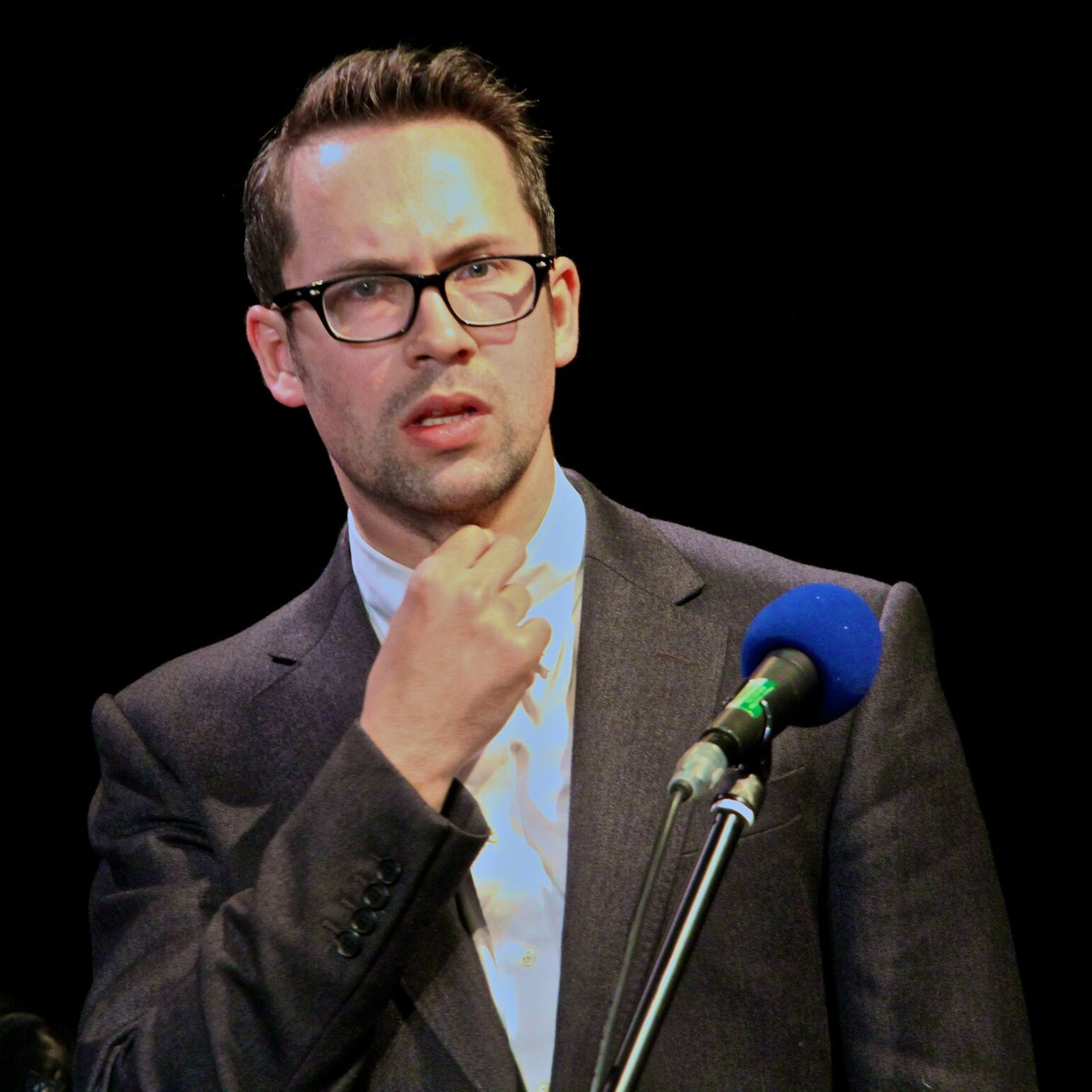 Max Olesker - Richard Snark     Max Olesker writes and performs around the world as one half of comedy duo  Max & Ivan  as well as appearing in BBC comedy shows such as W1A. He is a co-founder of improv school  The Free Association , and his writing can be found in magazines for the remaining six months print media continues to exist.