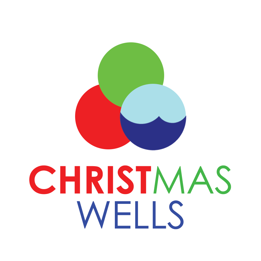 Download this for-print, CMYK   Christmas Wells logo  for print-media use.