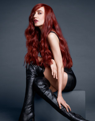 Lizzy Jagger for Redken 5th Avenue