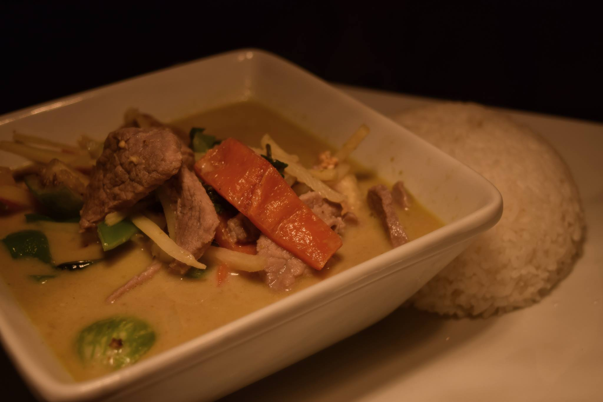 Red Curry w/Beef