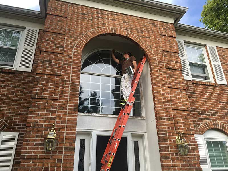 Painting of Exterior Trim