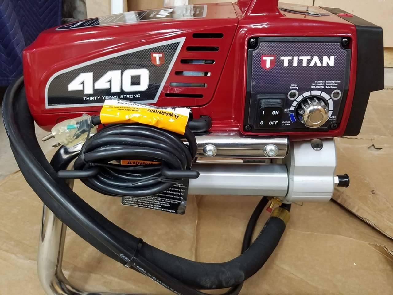 Titan Impact™ Electric Airless Foam Sprayer