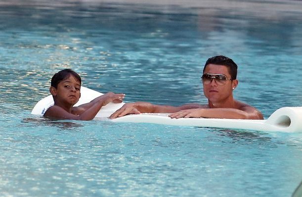 Ronaldo can flash sell his Gucci glasses wrapped in an autographed pool float for $12,777 to a fan in Japan.  Raises money for Real Madrid Foundation.  The story of the glasses lives a new life.