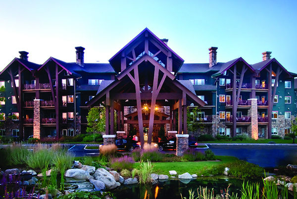 We're proud of the work we accomplished at The Grand Cascade Lodge ®  in Hamburg, NJ.