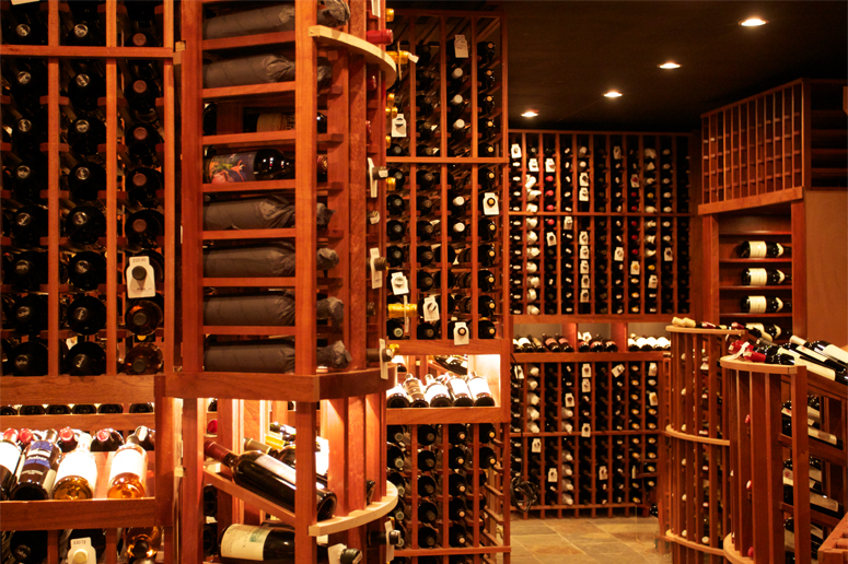 The wine cellar From  Crystal Golf Resort