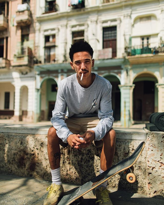 Skating through Cuba with Orlando. Had the privilege to experience the authentic side of Old Havana and meet the lively people who call it home this past week with @matiasderada You've never seen such a hustle. More to come from this beautiful place.