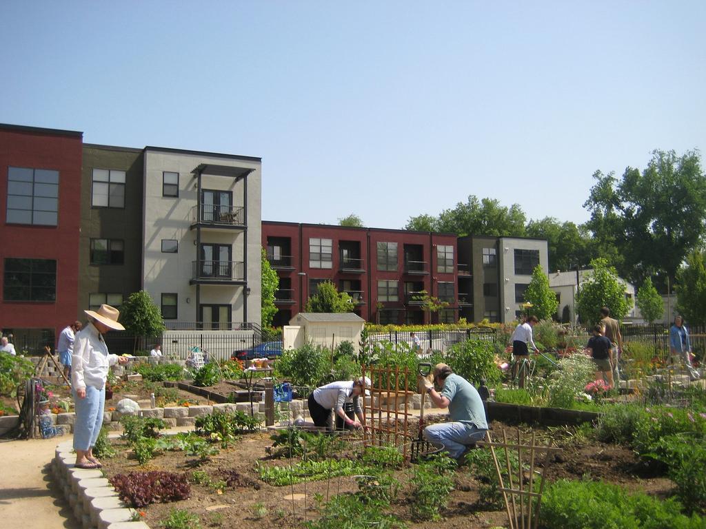 fremont community garden + apartments | sacramento, california | usa