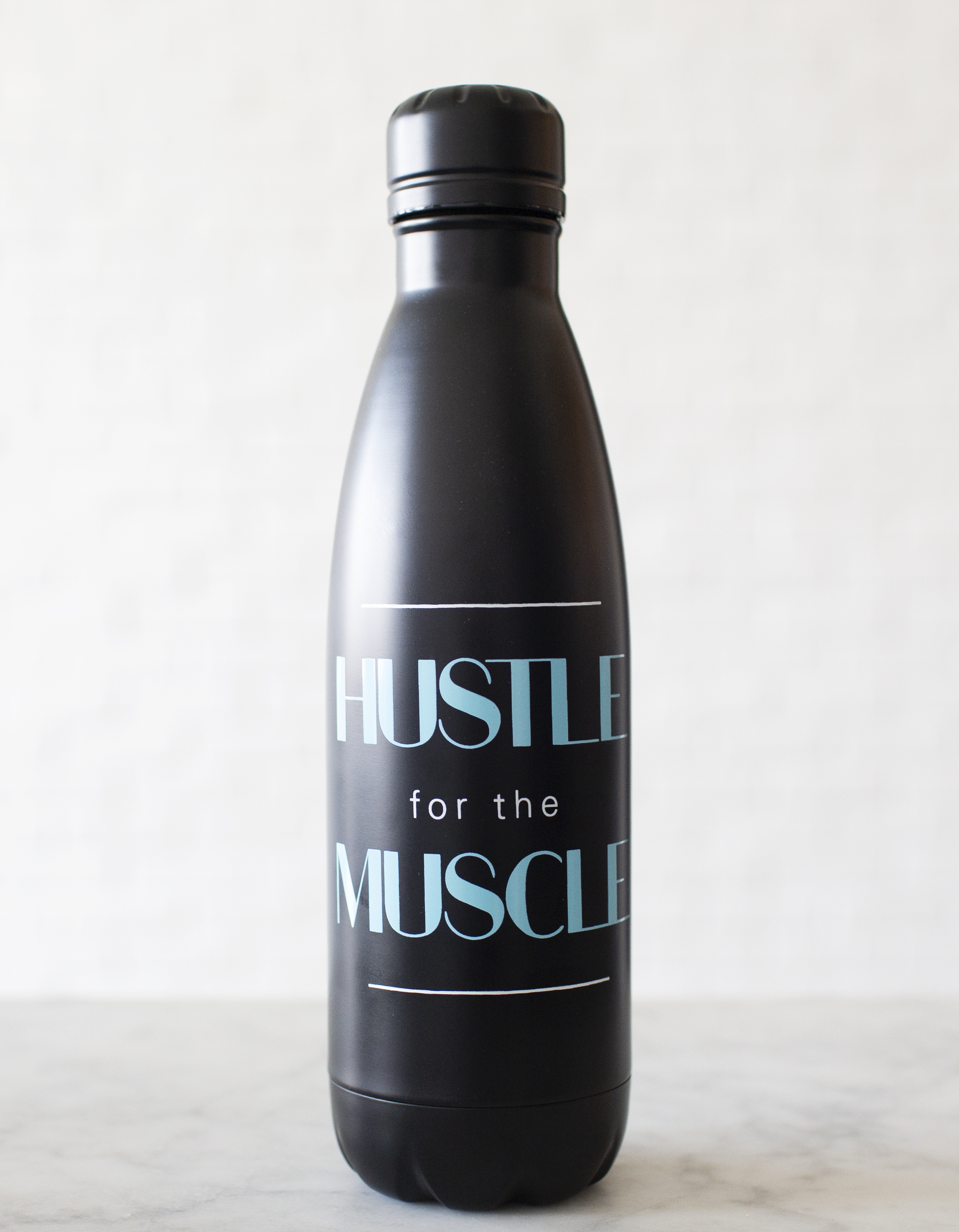 Hustle for the Muscle Water Bottle