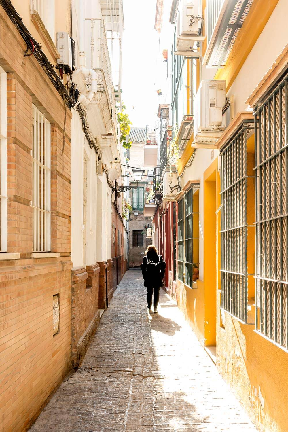 Colorful Streets of Seville