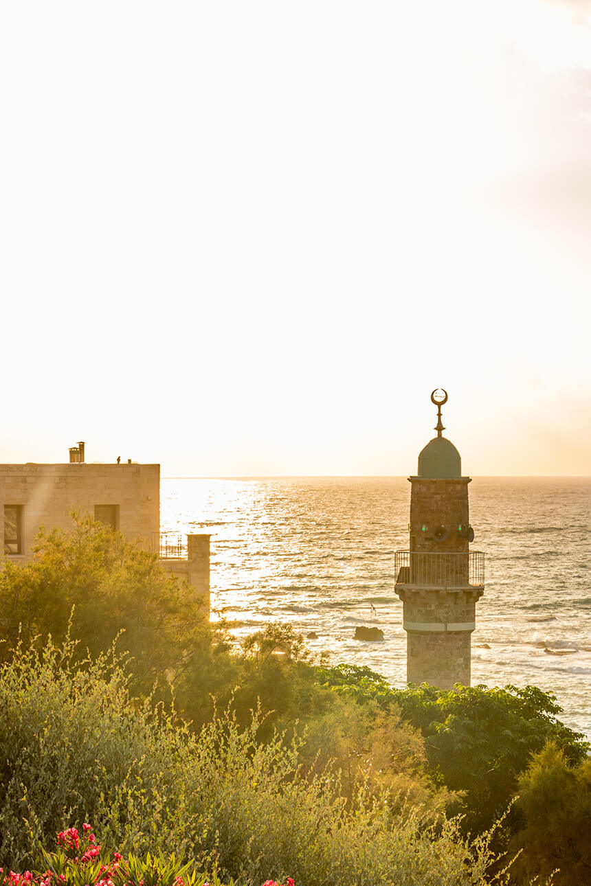 The Sea Mosque of Jaffa