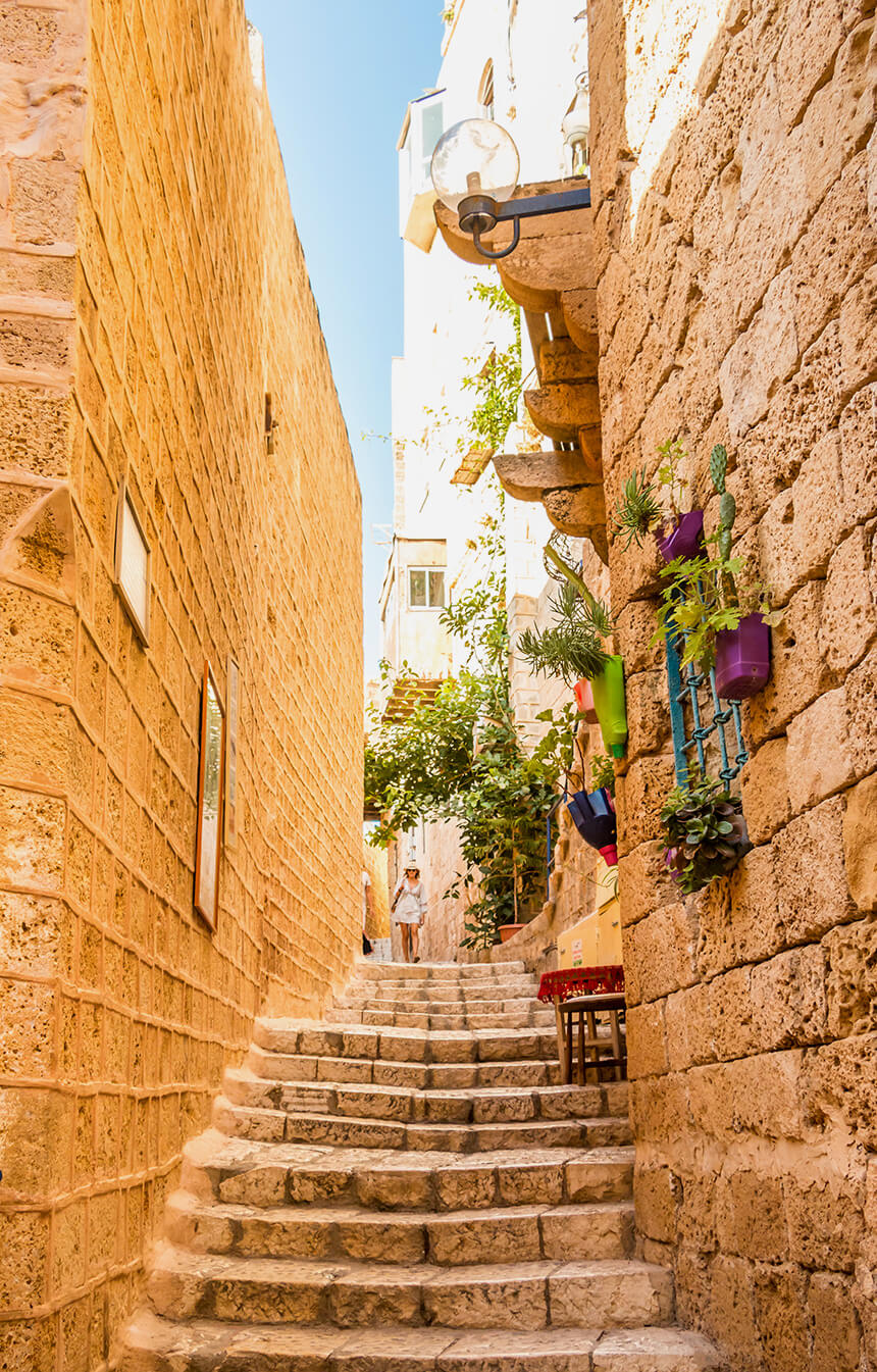 Street in Jaffa