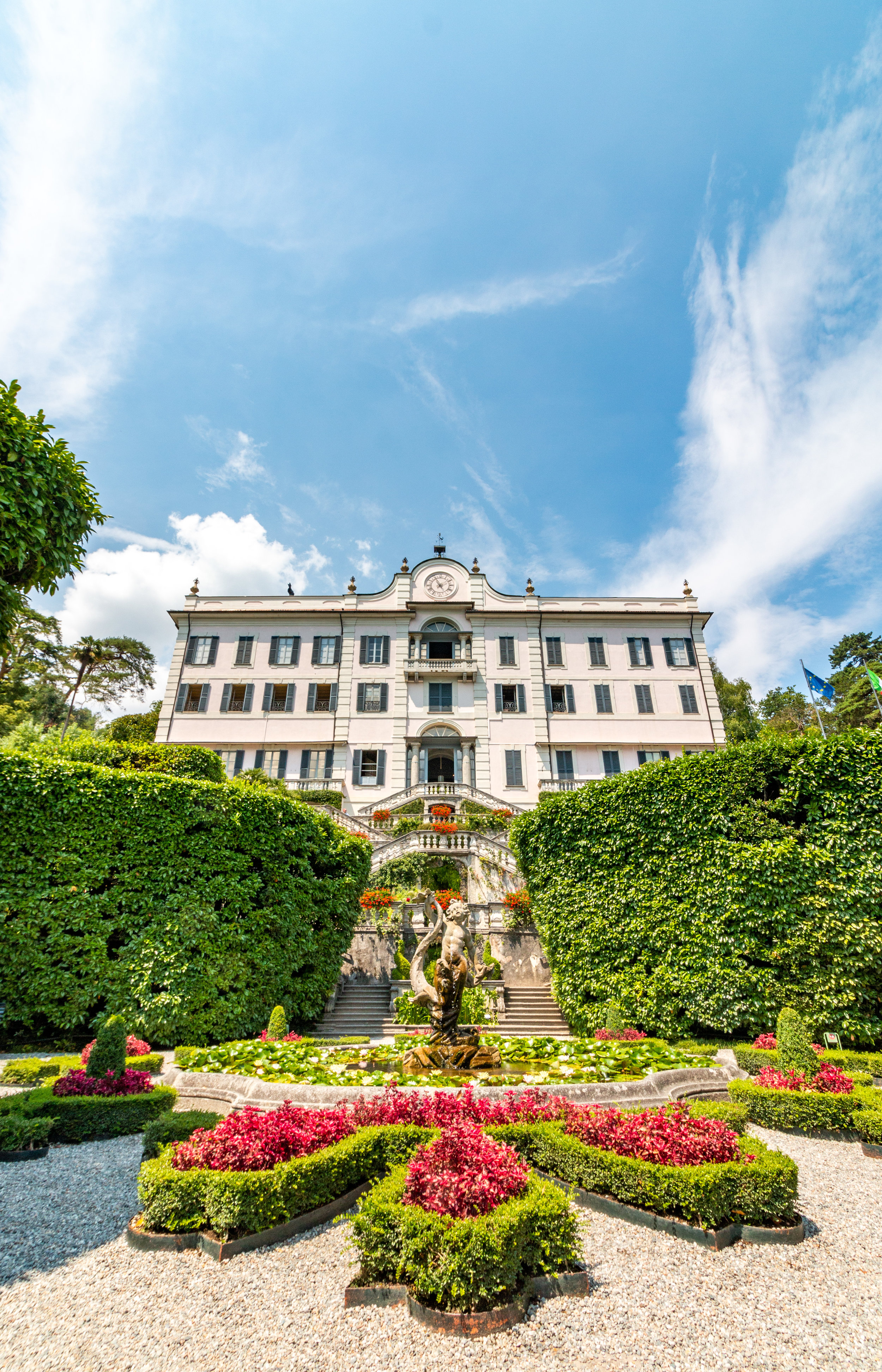 Entrence of the Villa Carlotta