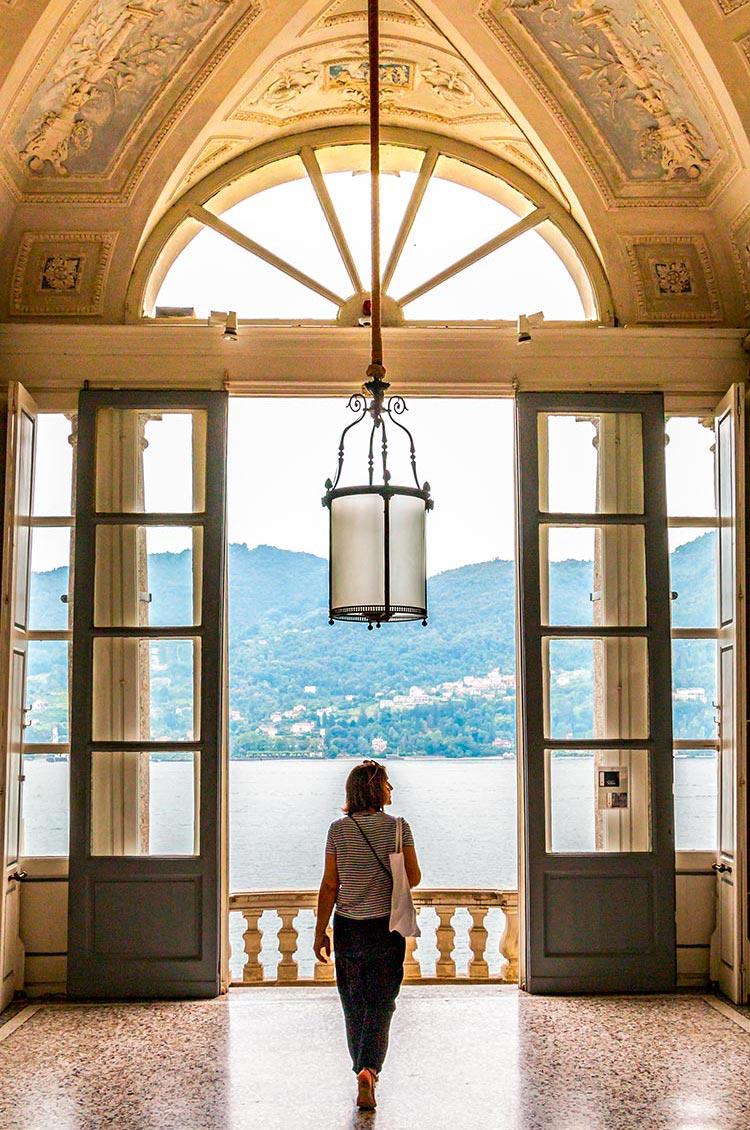 Inside the Villa Carlotta