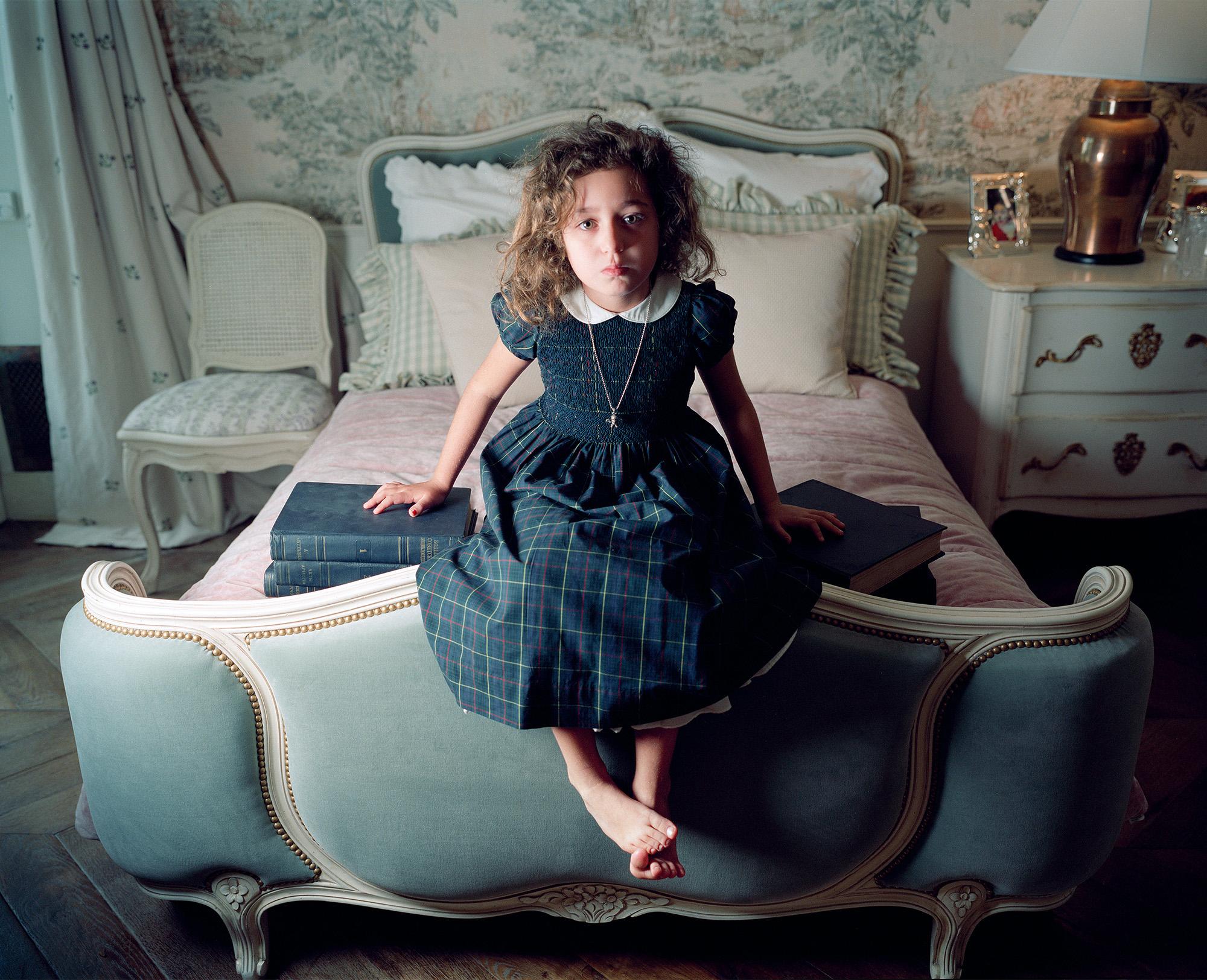 Etia in Her Bedroom, Moscow 2009