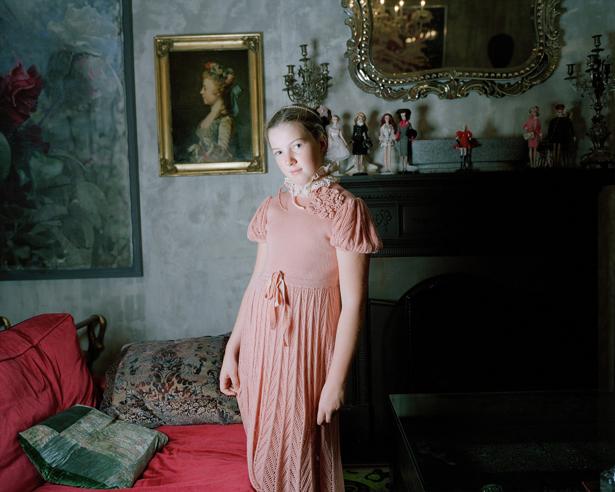 Vasilisa in a Pink Dress, Moscow 2009