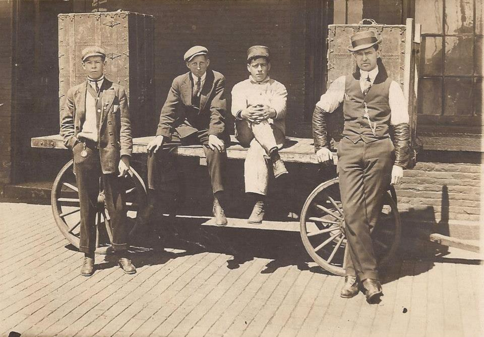Front of a RPPC