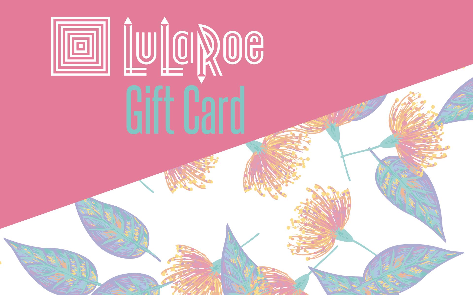 Gift Cards Lularoe Supply