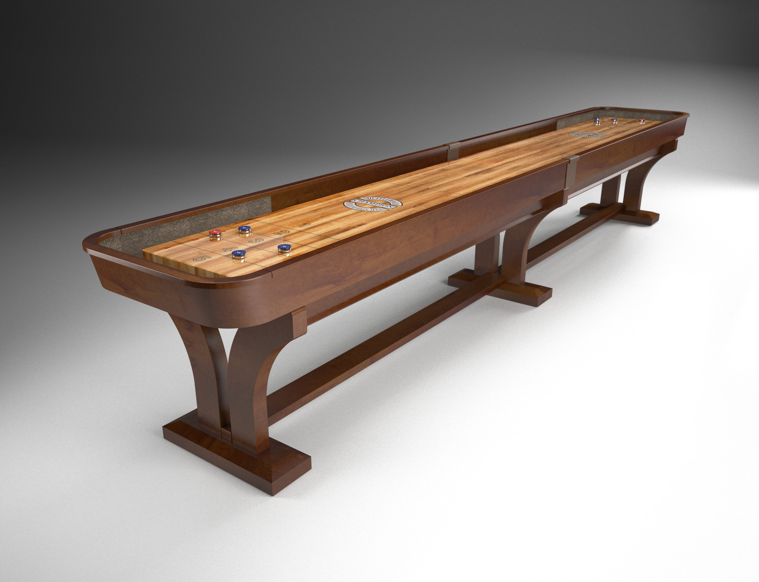 Champion Venetian Shuffleboard in millcreek on maple