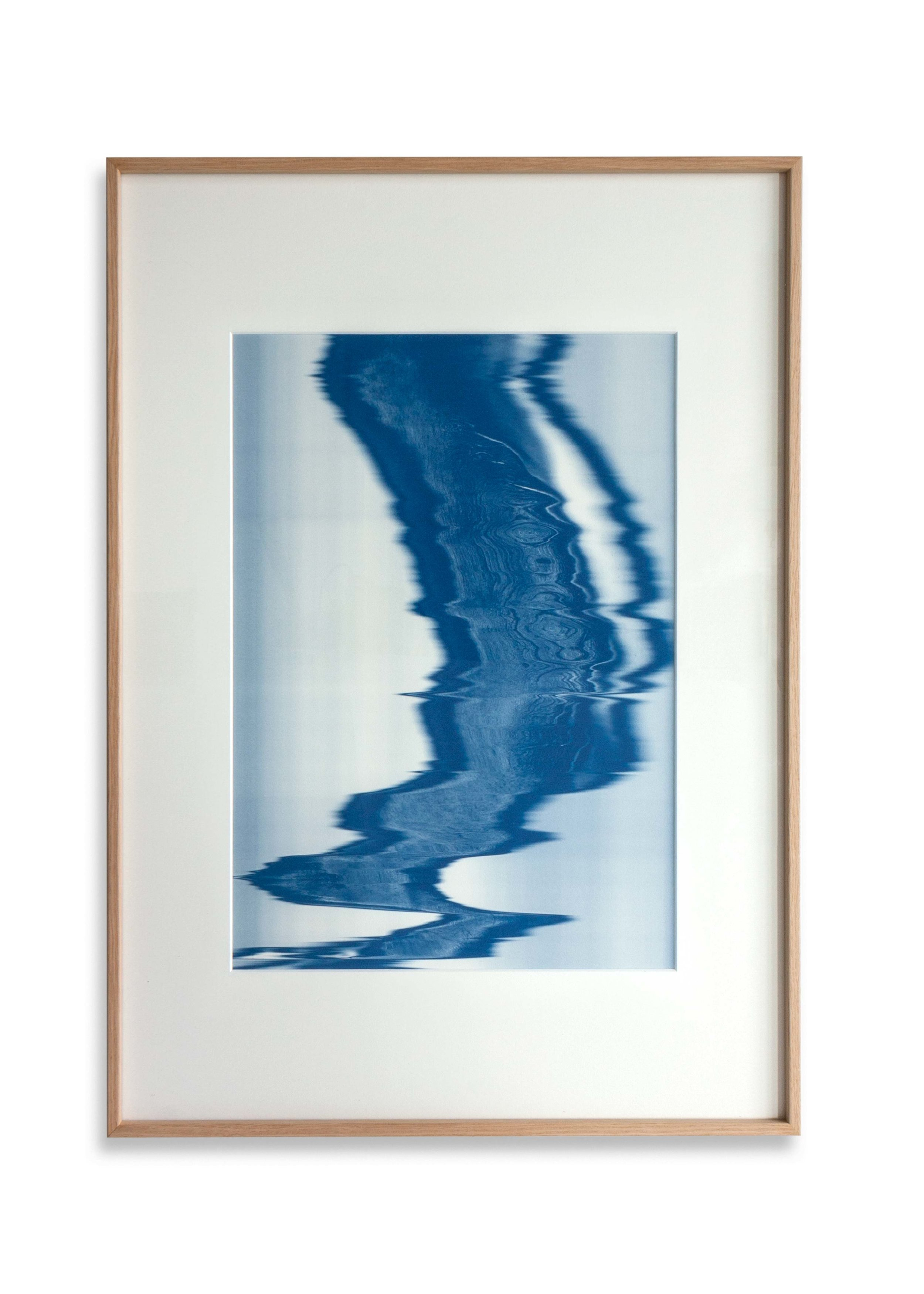 Trace Cumatilis XXX Print size 40 x 28cm / Frame size 54.9 x 42 cm Cyanotype Edition of 5