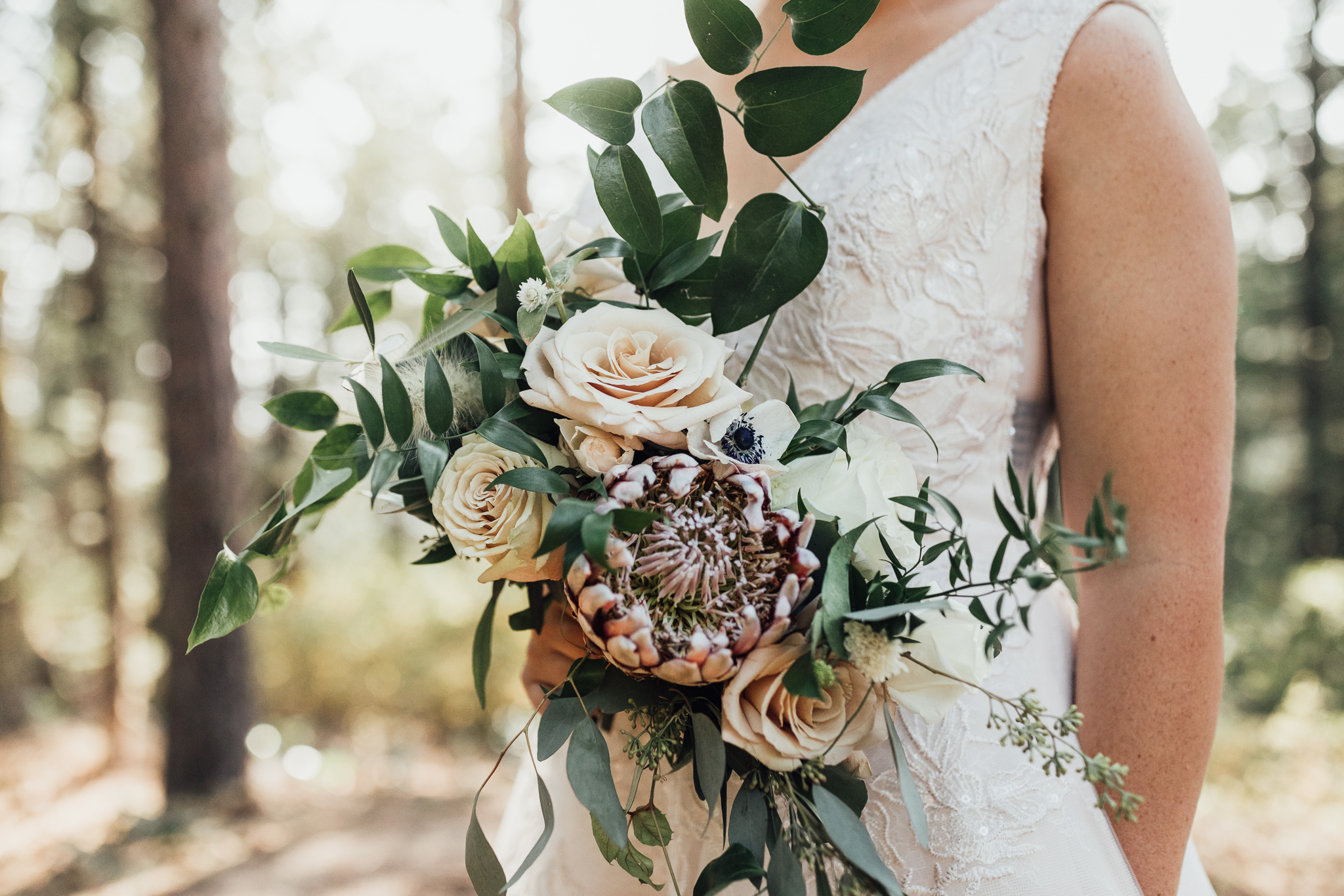 Rust and Thistle Florals