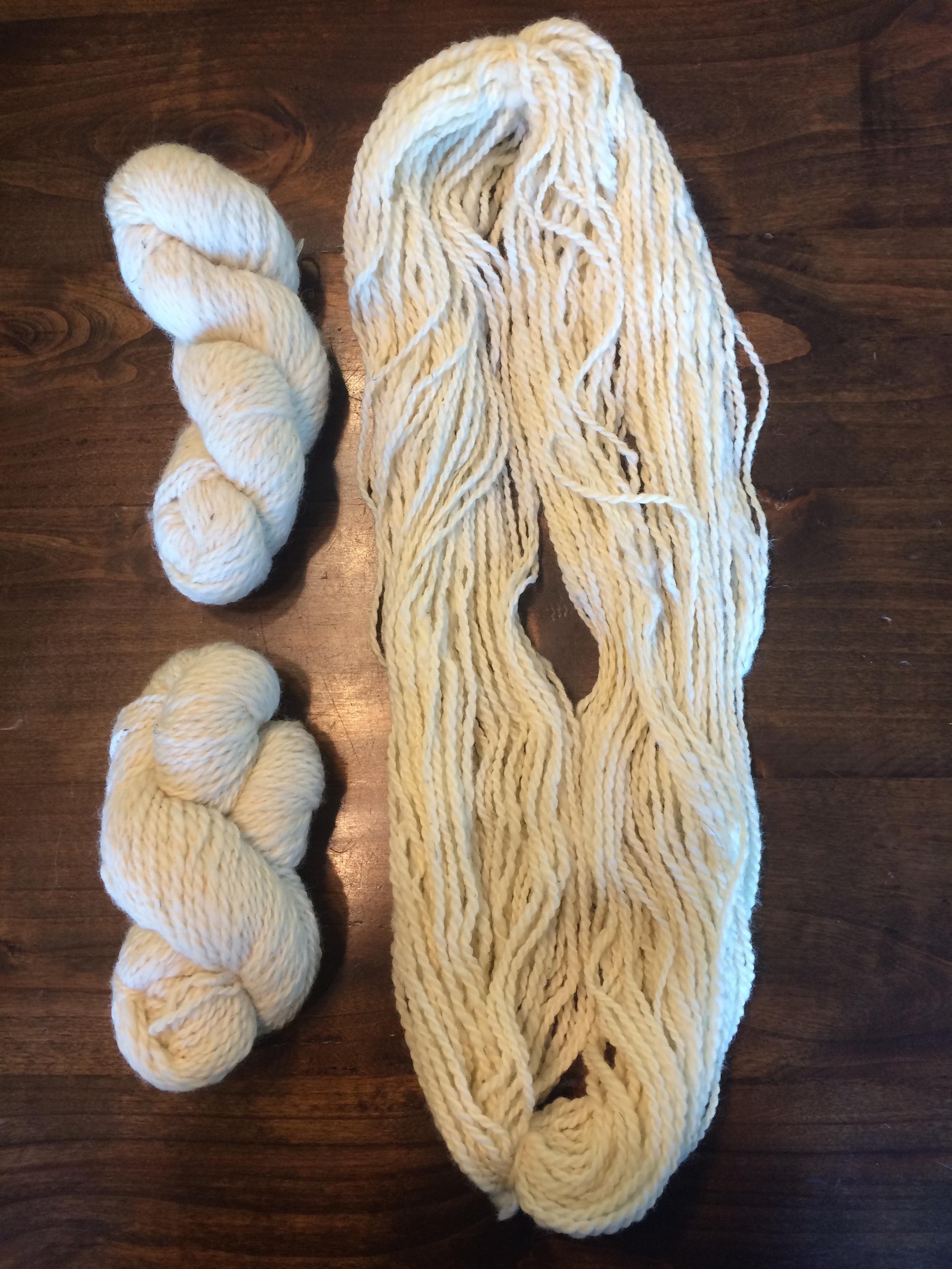 loose wool and skeins.JPG