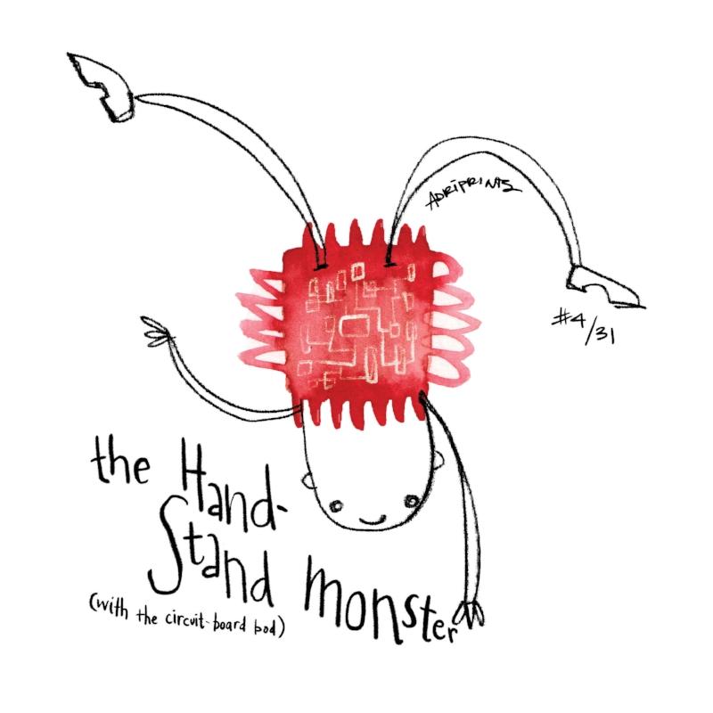 Handstand Monster