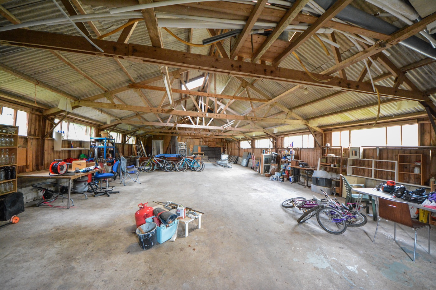 Barn available for set building and storage