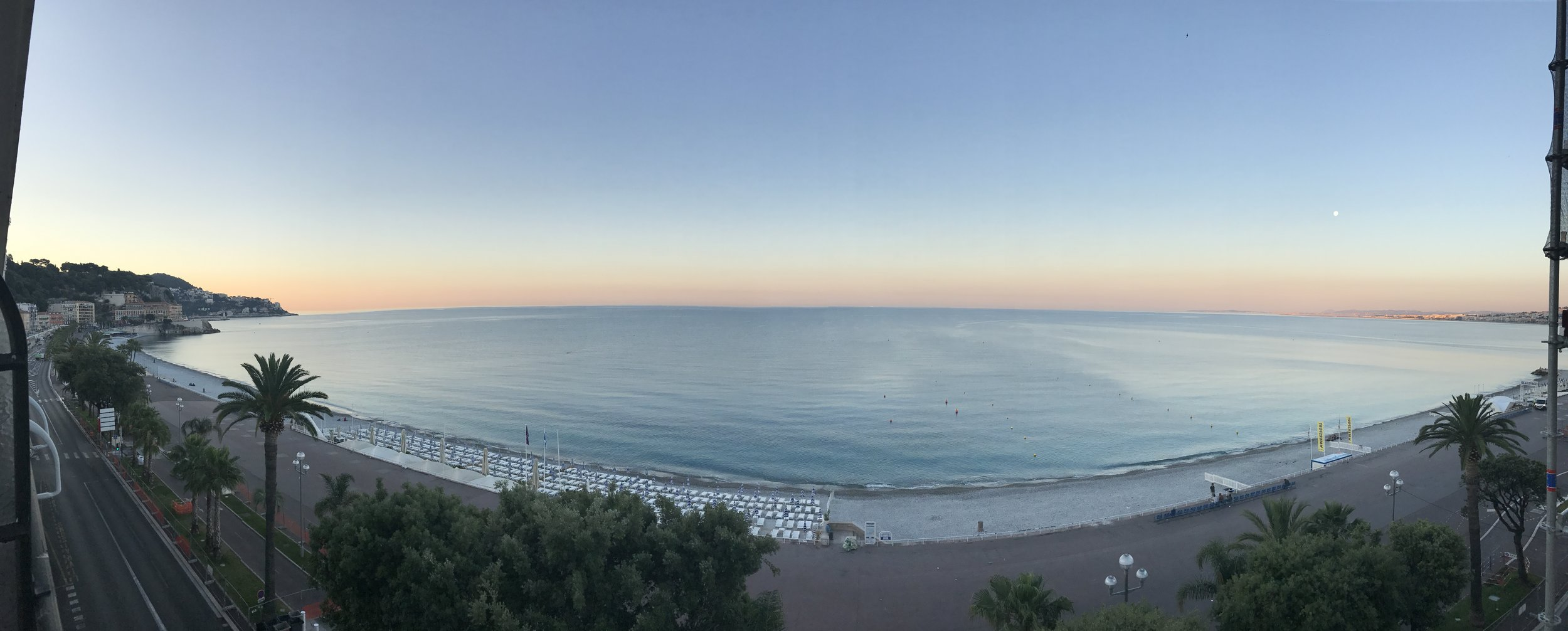 Our last morning in Nice!