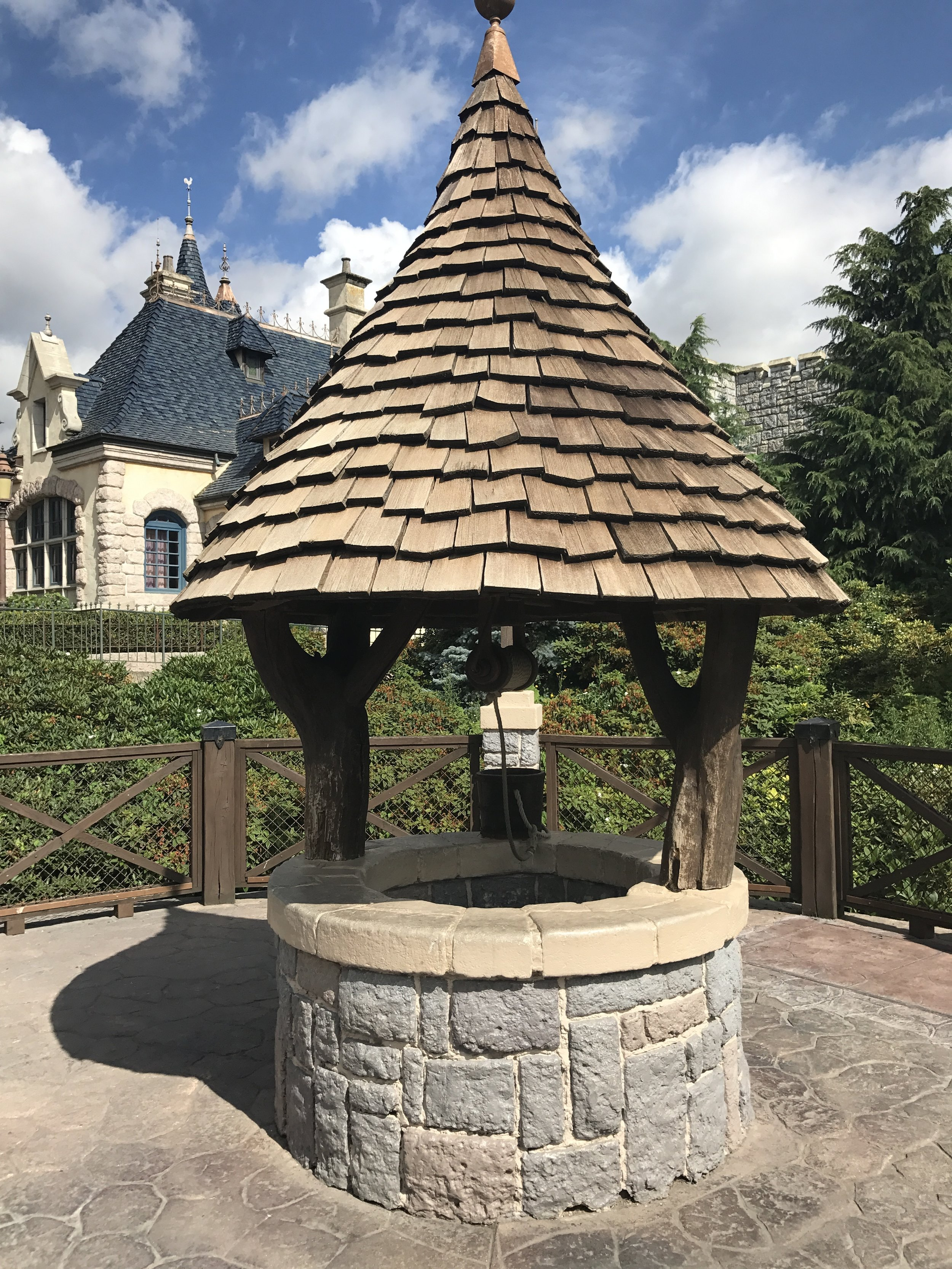 Wanna know a secret? Promise not to tell? We are standing by a wishing well.