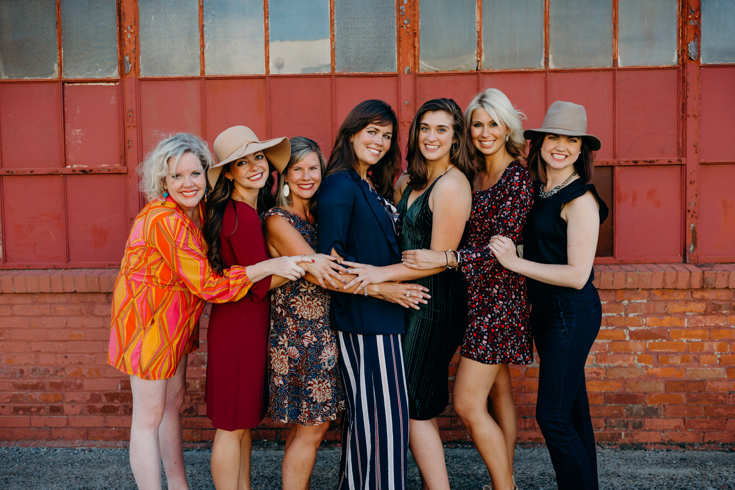 YWC Fashion Show Committee. Photo by Amy Barber, YWC member and owner of  Bluegrass Bebe Photography .