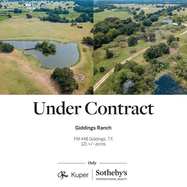 Under Contract!  #realestate #ranchrealestate