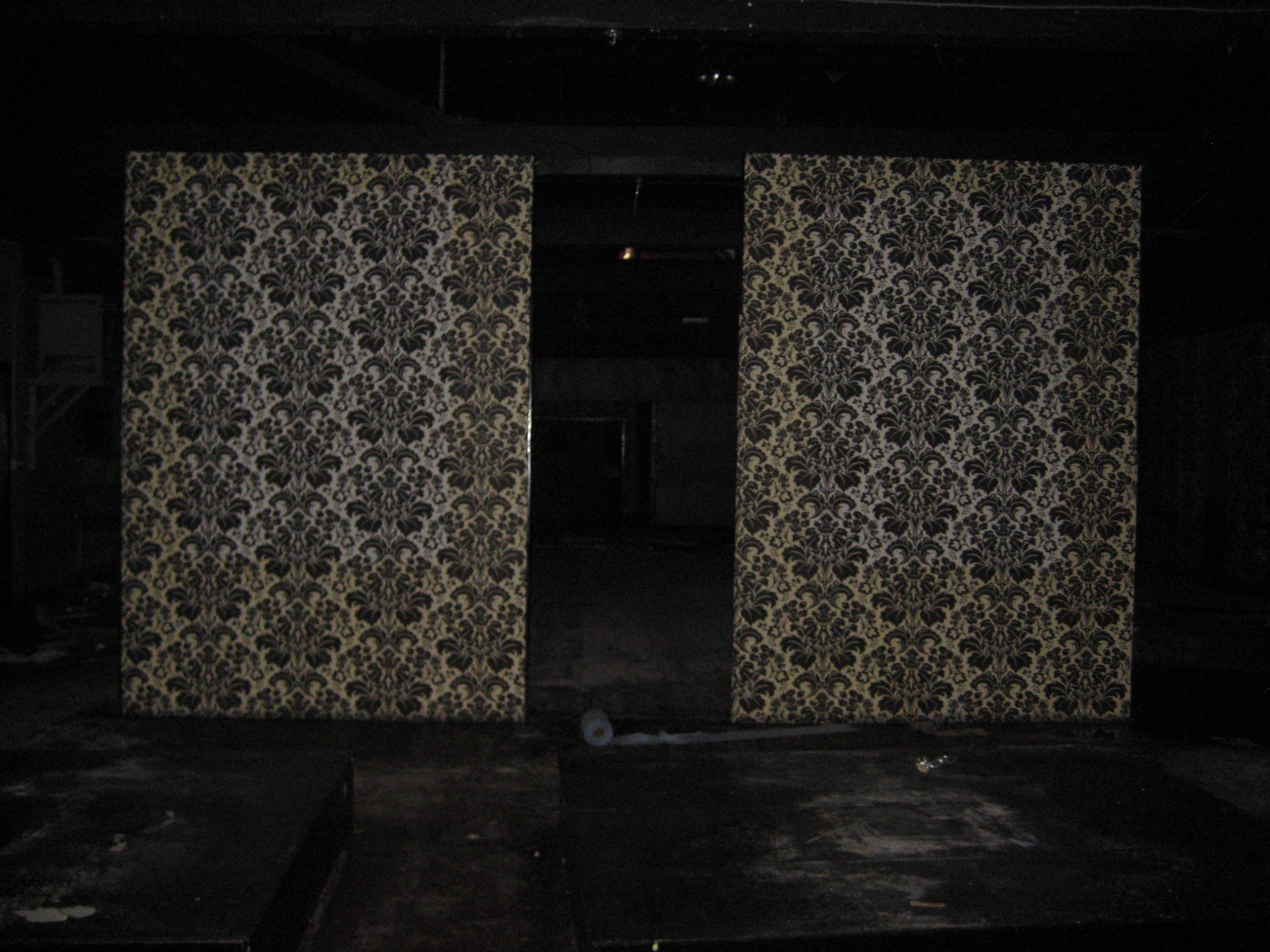 CLXVI Nightclub walls (mirrored and floated) with roll.jpg