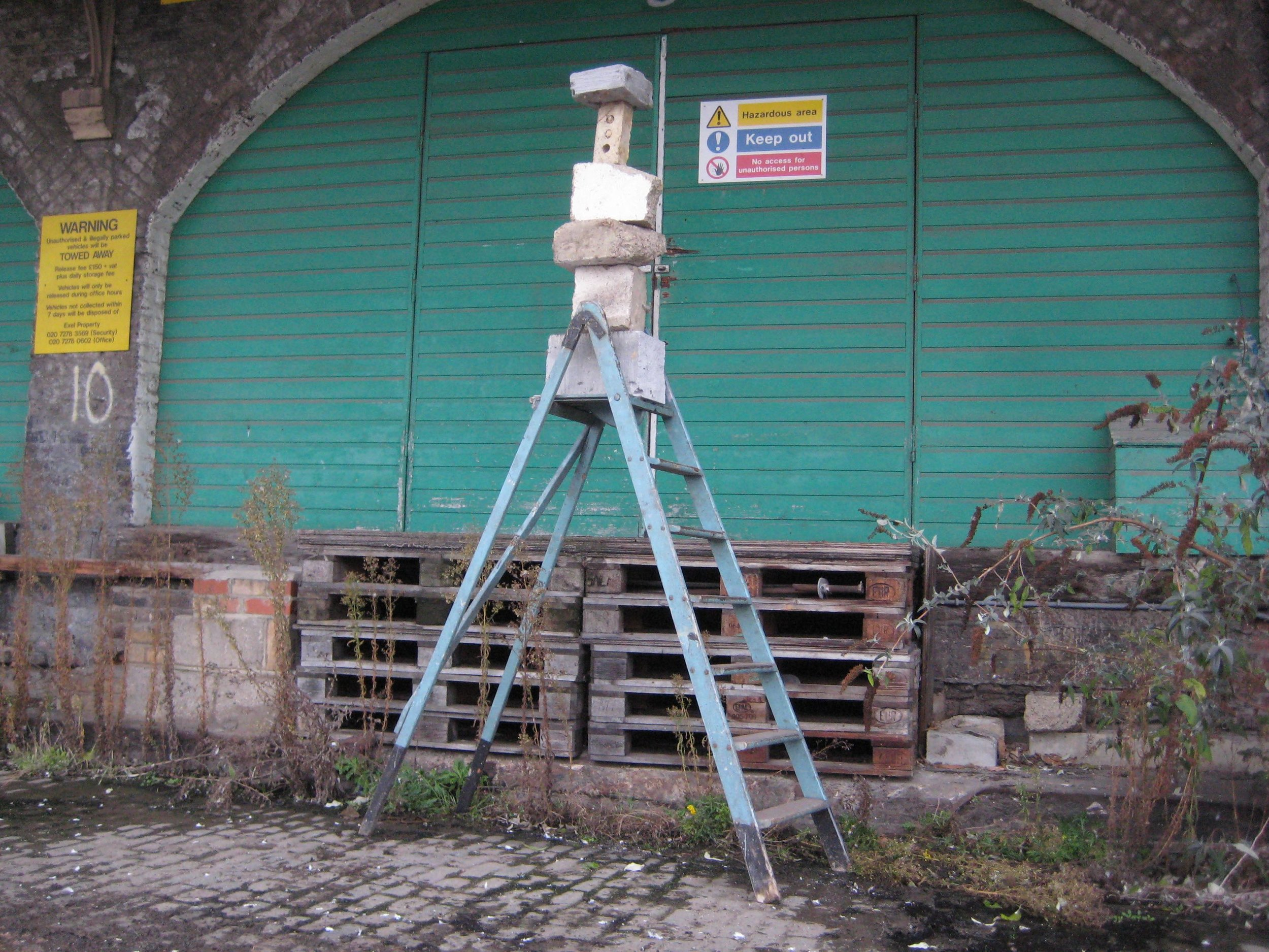 LXXXV Double height ladder stack.jpg